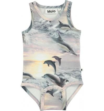 dolphin sunset bodysuit