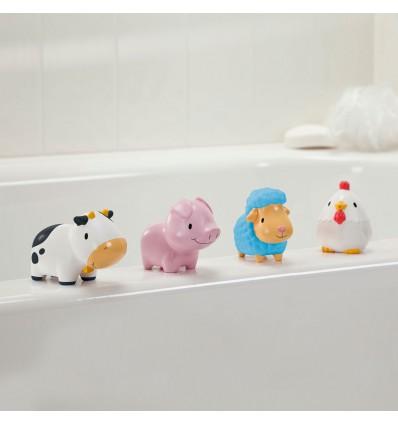 Bath Toys Farm - 4 pack