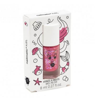 SISSI hot pink glitter nailpolish
