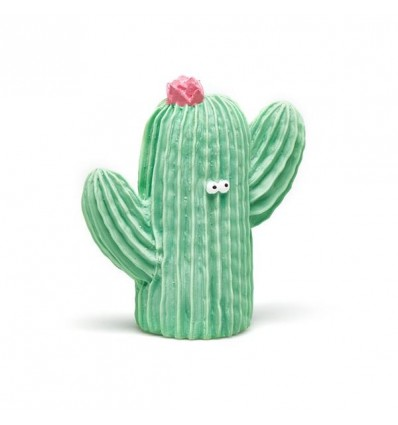 natural rubber teething cactus
